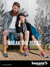 Campagna stampa Saucony