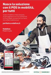 Campagna stampa Vodafone