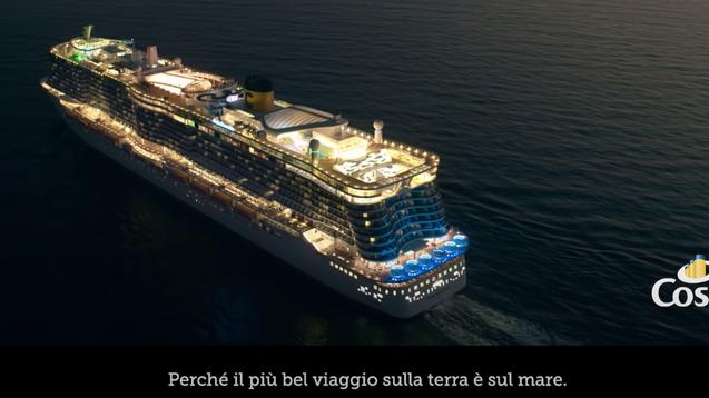 Spot Costa Crociere marzo 2021 – Il più bel viaggio sulla terra è sul mare