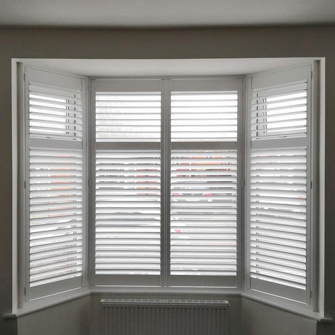 Angled Bay with Shutters