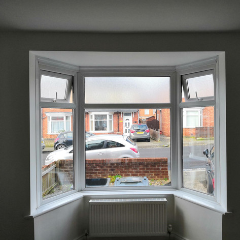 Angled Bay Window