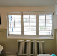 Shutters in the Bathroom