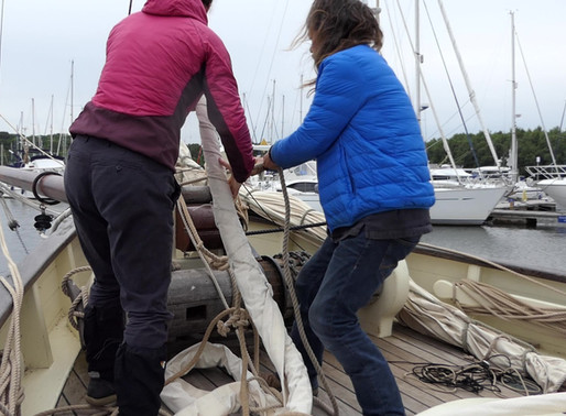 Thursday 7th June: Sailing from Beaulieu to Poole