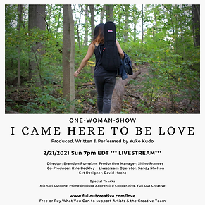 I came here to be Love Flyer NEW.png