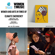 Women in Arts in time for Climate Emerge
