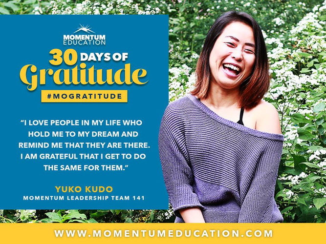 Momentum Education Featured Alumni