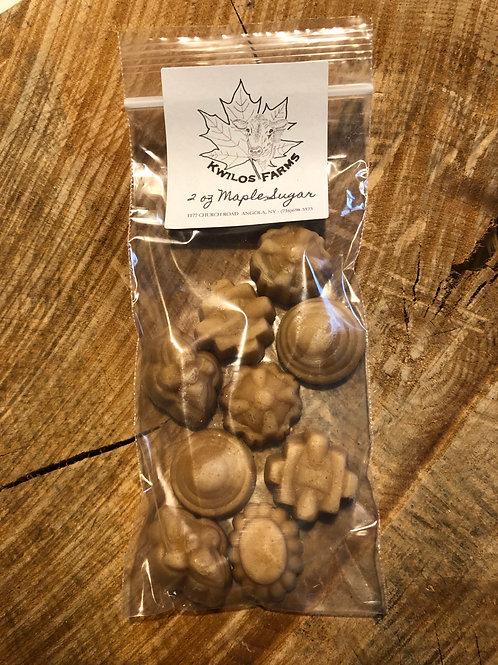 2 oz Bag Maple Sugar Shapes