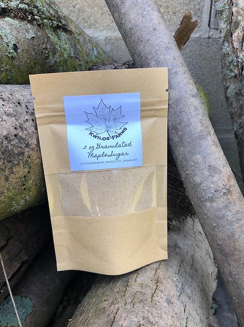 2 oz Bag Granulated Maple Sugar