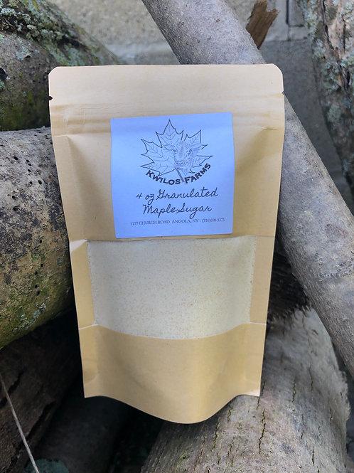 4 oz Bag Granulated Maple Sugar