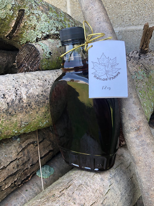 12 oz Flask Maple Syrup