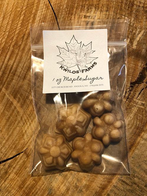 1 oz Bag Maple Sugar Shapes