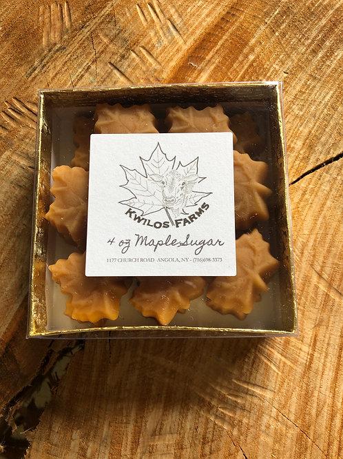 4 oz Box Maple Sugar Shapes