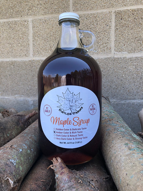 Half Gallon Maple Syrup
