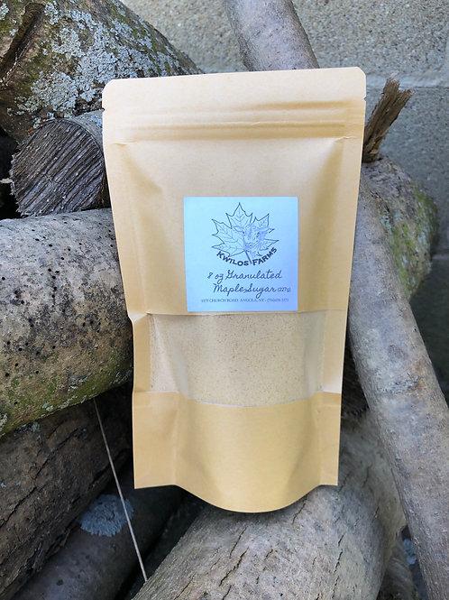 8 oz Bag Granulated Maple Sugar