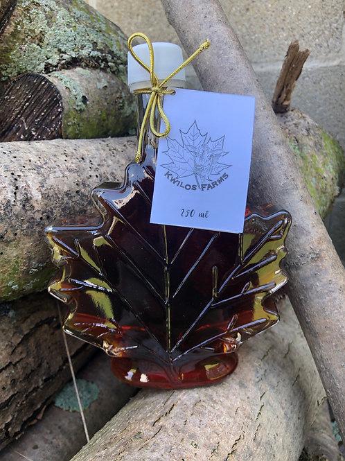 250 ml Leaf Maple Syrup