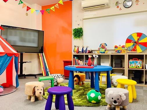 英会話教室子どもクラスルーム