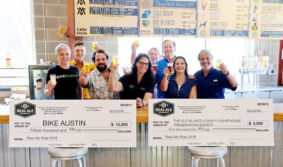 Real Ale Brewing Company Supports The Old Blanco County Courthouse!