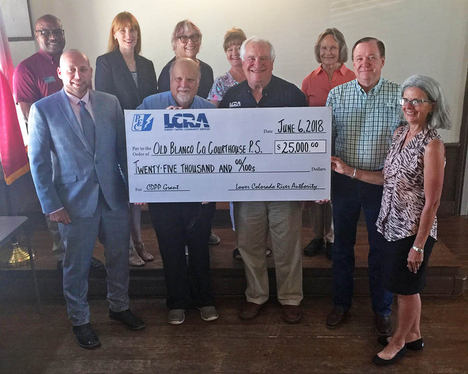LCRA Awards Grant to O.B.C.C.P.S.!!