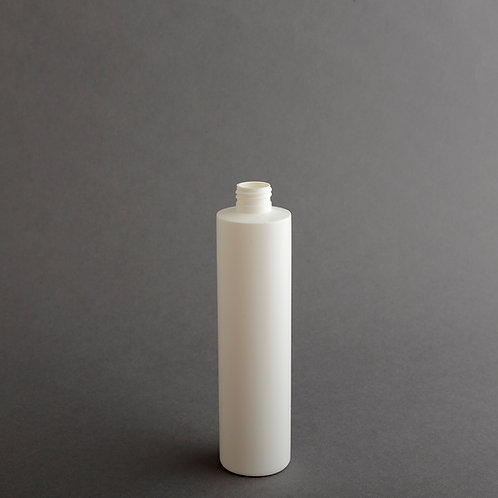 10 oz WHITE HDPE CYLINDER 24/410
