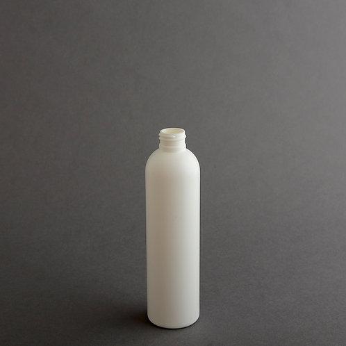 8 oz WHITE HDPE IMPERIAL 24/410