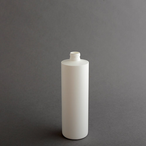 16 oz WHITE HDPE CYLINDER 24/410
