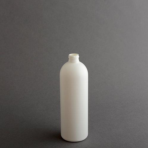 16 oz WHITE HDPE ROYALTY ROUND 24/410