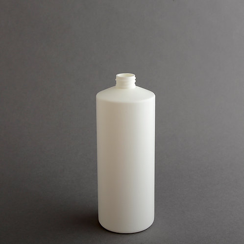 28 oz WHITE HDPE CYLINDER 28/410