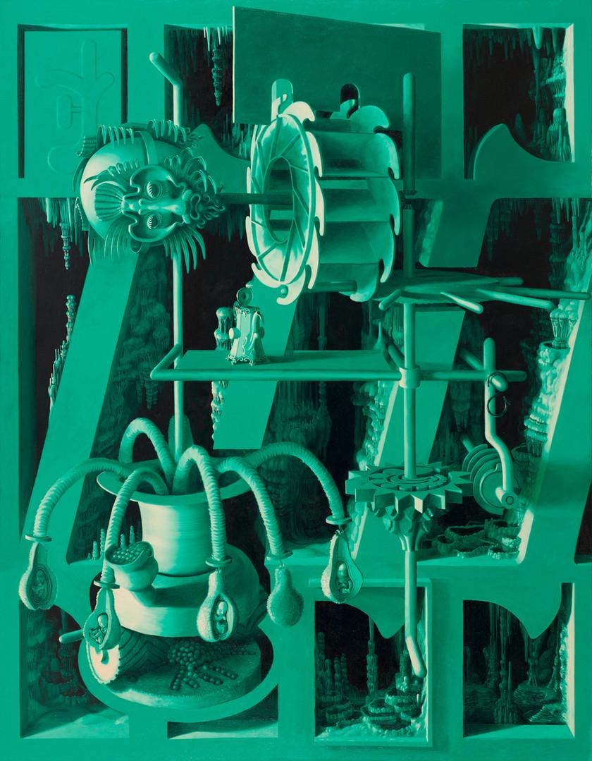 Grotl,2020, Oil on linen, 180x140cm.jpg