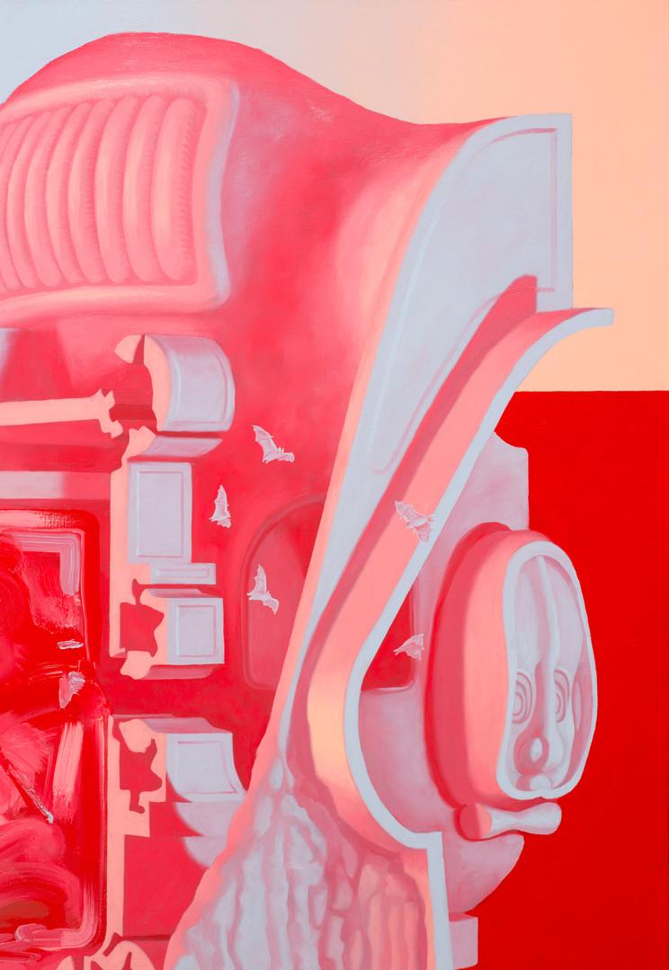 Pluch Jarv, 2020, Oil on linen, 180x140c
