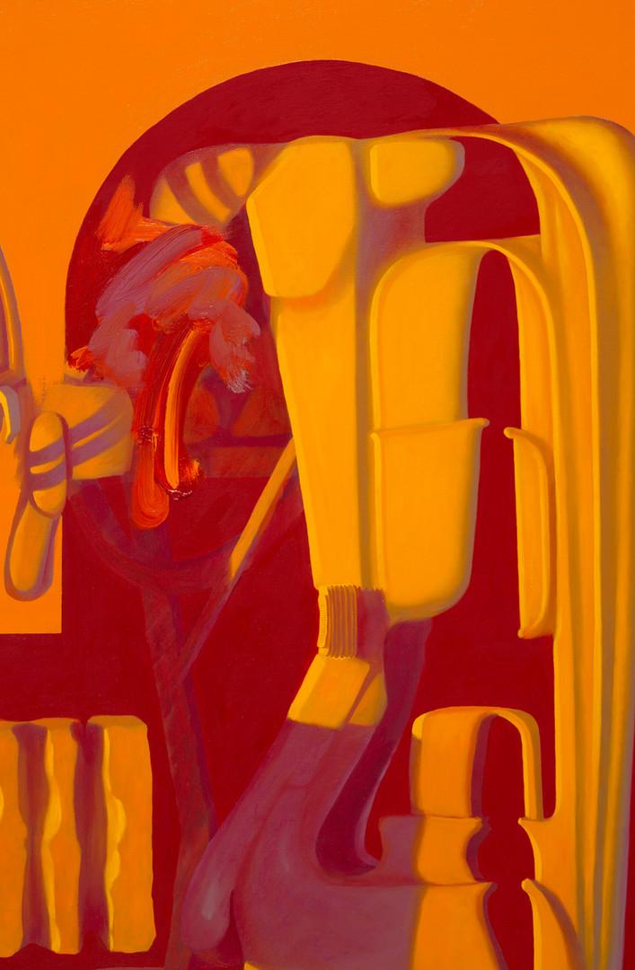 Hewboguish, 2020, Oil on linen, 180x140c