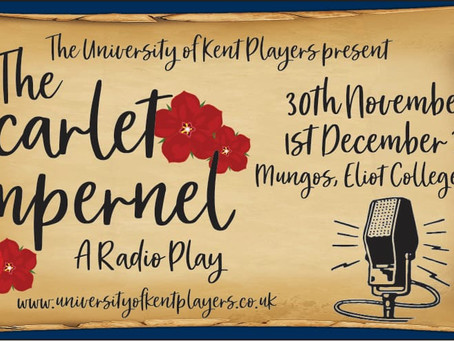 Tickets now available for The Scarlet Pimpernel staged radio play
