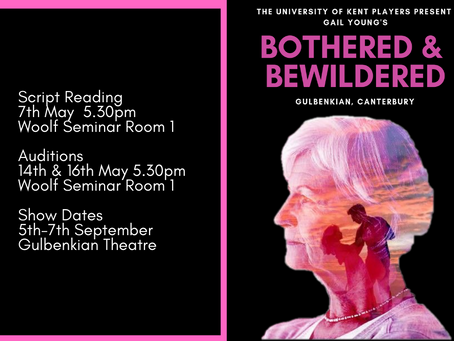 Audition for Bothered and Bewildered