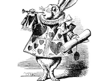 Audition for Alice in Wonderland
