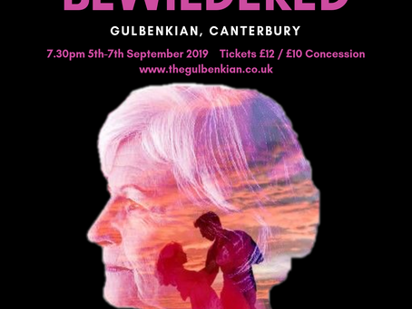 Tickets now on sale for 'Bothered & Bewildered' showing 5-7 September 2019