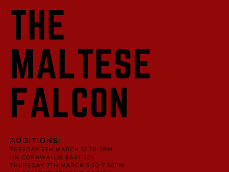 Audition for the Maltese Falcon