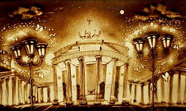 Sand Malerei Show Berlin