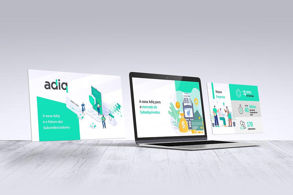 Apresentação digital Adiq