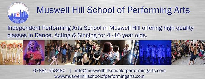 Muswell Hill Performing Arts School Saints N10 Dance School