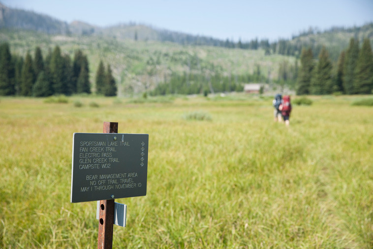 Lost in the wilderness: backpacking during 8 days in Yellowstone backcountry (slideshow)