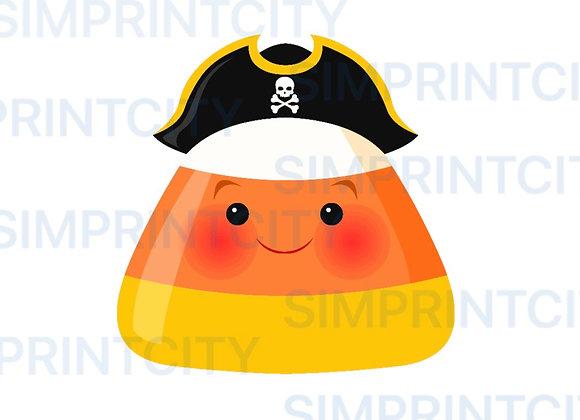 Pirate Candy Corn Cookie Cutter