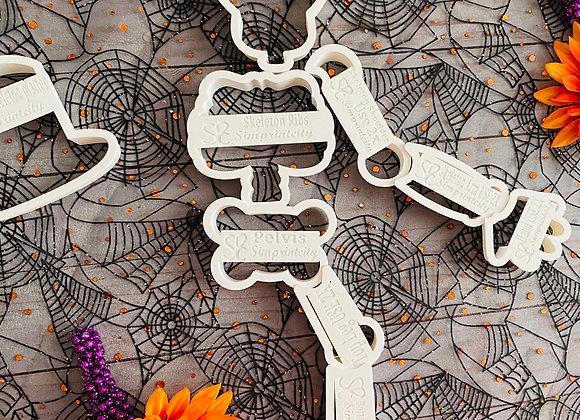 Skeleton Cookie platter