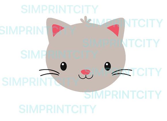 Cat Face Cookie Cutter