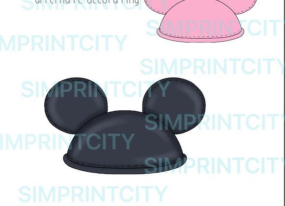 Mickey Cap Cookie Cutter