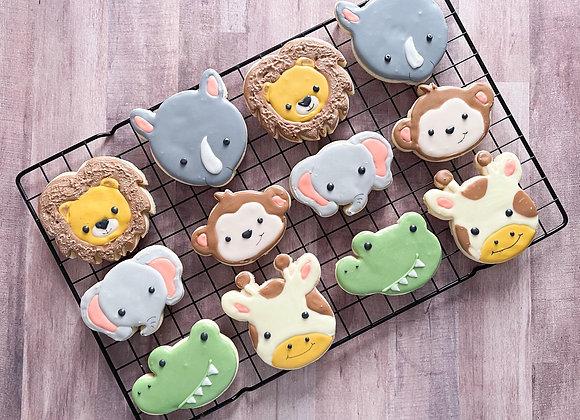 Zoo Cookie Cutter Set (6 Cutters)