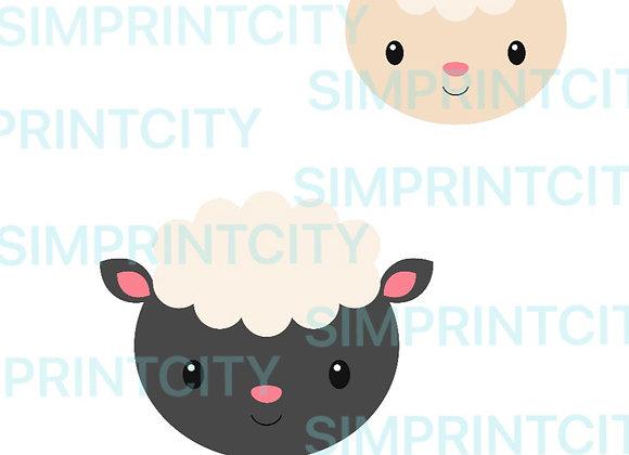 Sheep Head Cookie Cutter