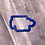Thumbnail: Gnome Plaque Cookie Cutter