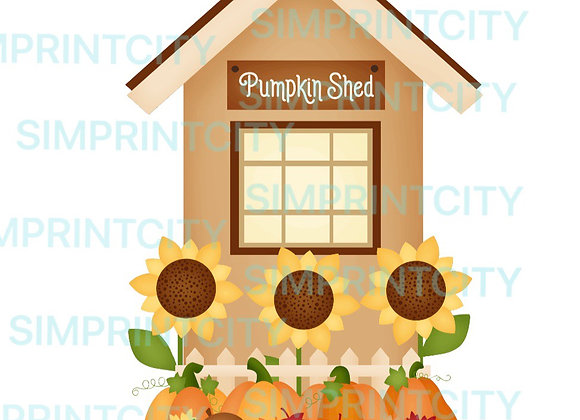 Pumpkin Shed Cookie Cutter