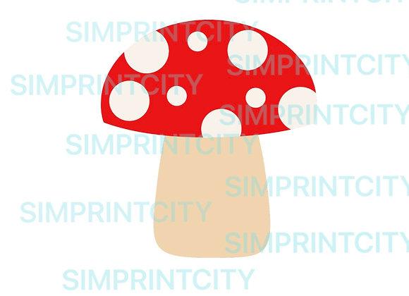 Woodland Mushroom Cookie Cutter