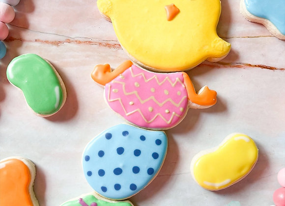 Chick on Eggs Cookie Cutter set