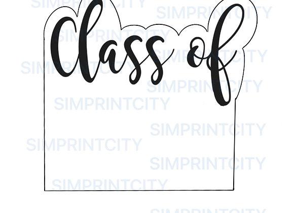 Class of .. Graduation Plaque